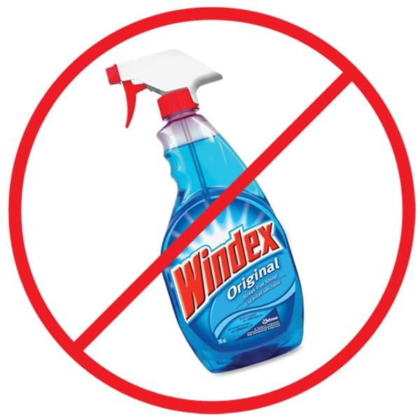Windex prohibited