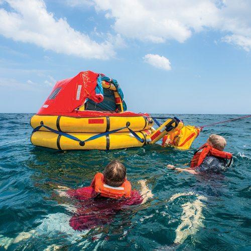 STCW Basic Safety Training Raft
